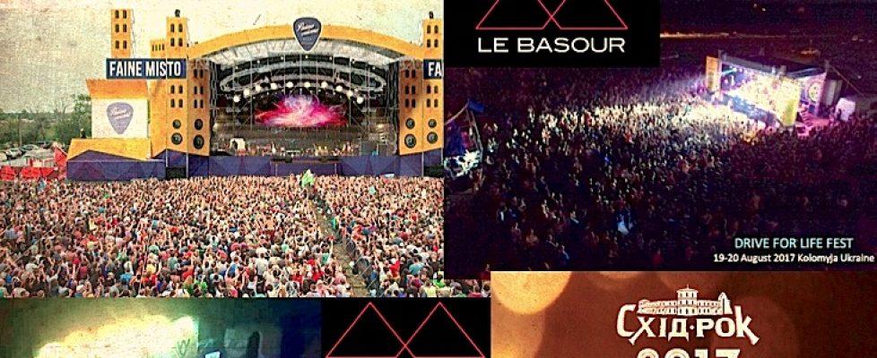 Le Basour - Ukrainian Tour 2017